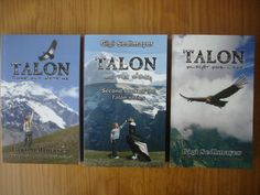 My first 3 novels in the Talon series.  Talon, the condor and challenged Matica. Her rejection, her hope, her love, her inspiration, her courage, her adventure. A read for all ages