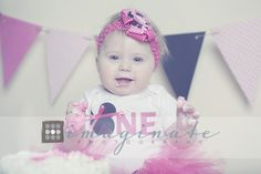Hannah is One! | Baby's 1st Year Photography  Photographer, Bloomington, IL ©Imaginate Photography
