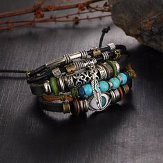 Punk Design Turkish Eye Bracelets For Men New Fashion