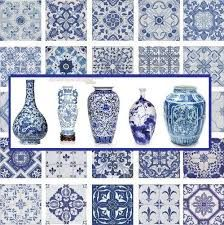 Image result for blue ceramics paintings