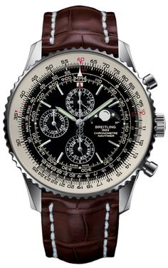 @breitling Watch Navitimer 1461 Limited Edition #bezel-bidirectional #bracelet-strap-crocodile #brand-breitling #case-material-steel #case-width-48mm #chronograph-yes #date-yes #day-yes #delivery-timescale-7-10-days #dial-colour-black #gender-mens #limited-edition-yes #luxury #moon-phase-yes #movement-automatic #official-stockist-for-breitling-watches #packaging-breitling-watch-packaging #perpetual-calendar-yes #style-sports #subcat-navitimer #supplier-model-no-a1938021-bd20-756p ...