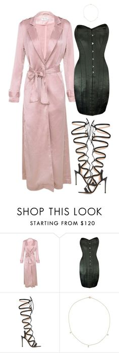 """""""Baddie"""" by hy1as on Polyvore featuring Mode, Vollers und Gianvito Rossi"""
