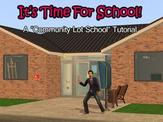 It's time for school! - A Community Lot School Tutorial - silivrin's adventures in the land of the sims