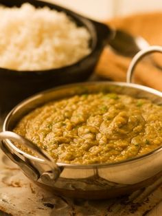 Indian Rice & Dal- this is exactly what I have cooking in my kitchen right this moment for dinner tonight!!!! Lol