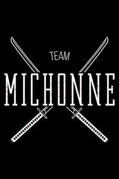 Team Michonne Art Print #twd #thewalkingdead