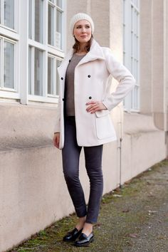 Outfit: The Light Pink Wool Coat