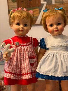 Girls Dresses, Flower Girl Dresses, Summer Dresses, Ideal Toys, Vintage Dolls, Beautiful Dolls, Baby Dolls, Play, Friends