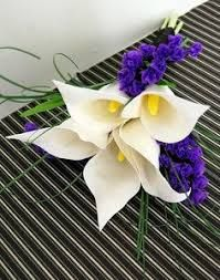 Image result for felt calla lily ornament