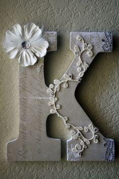 pretty letters