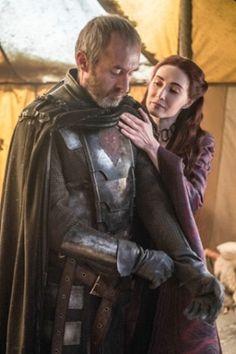 Melisandre and Stannis Baratheon