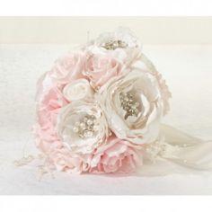 Lillian Rose Chic and Shabby Wedding Bouquet, Blush, Multicolor Cream Wedding, Chic Wedding, Blush Pink Wedding Cake, Wedding Summer, Wedding Art, Rustic Wedding, Beaded Bouquet, Artificial Wedding Bouquets, Lillian Rose