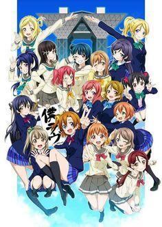 Love Live! School idol project, Nozomi Tojo, Ayase Eli, Kousaka Honoka, Sonoda Umi, Minami Kotori, Nishikino Maki, Hoshizora Rin, Koizumi Hanayo, Yazawa Nico, μ's Love Live! Sunshine!! Hanamaru Kunikida, Dia Kurosawa, Kanan Matsuura, Mari Ohara, Riko Sakurauchi, Yoshiko Tsushima, You Watanabe, Chika Takami, Ruby Kurosawa, Aqours