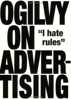 [Kindle] Ogilvy on Advertising Author David Ogilvy, Advertising Quotes, Kindle, Free Reading, Reading Lists, Got Books, Books To Read, Graphic Design Books, Copywriter, Frases