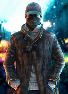 Aiden Pearce - Watch Dogs Kaito, Overwatch, Watchdogs 2, Videogames, Gaming  Wallpapers