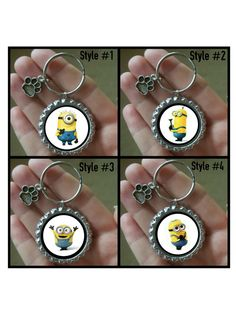 Hey, I found this really awesome Etsy listing at https://www.etsy.com/listing/262311575/custom-minions-funny-dog-tag-pet-id-tag