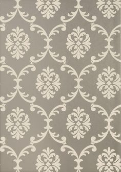 A Simplified Modern Damask Bastille Has An Ornate Look With Large And Elegant Scrolls That Will Climb Walls Style Poise This Classic Stately