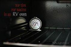 Tips for RV Baking