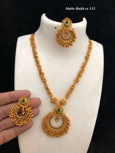 Necklaces Simple Temple jewellery available at Ankh Jewels for booking WhatsApp on 91 Gold Chain Design, Gold Bangles Design, Jewelry Design Earrings, Gold Earrings Designs, Gold Designs, Jewelry Art, Jewelry Necklaces, Fashion Jewelry, Gold Jewelry Simple