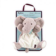 Kaloo Schmusetuch Handpuppe Elefant aus der Serie Les Amis - Bonuspunkte sammeln, Rechnungskauf, DHL Lieferung