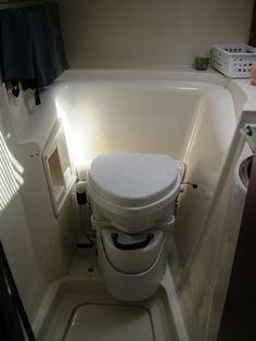 S/V Cheshire, 2002 Gemini 105Mc, 34' Toilet Installation, Composting Toilet, Gemini, Boats, Good Things, Twins, Ships, Boat, Twin