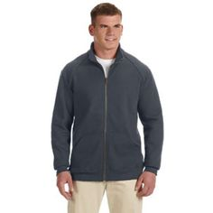 Gildan G929 Premium Cotton Ringspun Fleece Jacket