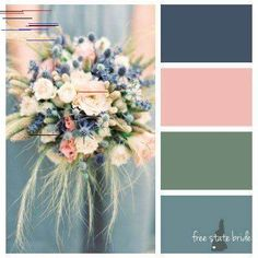 7 Amazing Summer Wedding Color Combos for a Memorable Big Day Olive Green Weddings, Dusty Pink Weddings, Sage Green Wedding, June Wedding Colors, Rustic Wedding Colors, July Wedding, Wedding Summer, June Wedding Flowers, Wedding Vows