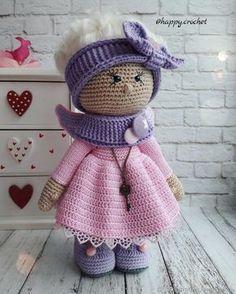 Карамельный ангелок – купить или заказать в интернет-магазине на Ярмарке Мастеров | Куколка в классических розово-сиреневых тонах,…