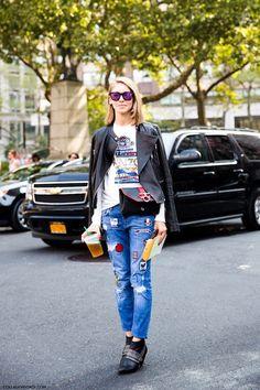 Parches DIY jeans