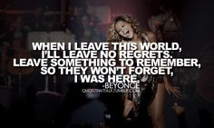 I Was Here - Beyonce. It has to be one of my all time favorite songs.Very powerful lyrics!