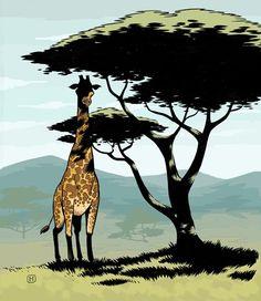Giraffe - Brian Hurtt
