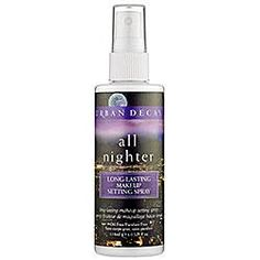 Awesome spray if you are sick of your makeup no staying on.. Amazing!especially for a wedding event.. black tie, or a night out on the town.