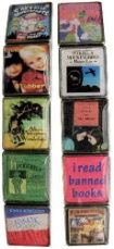 Banned Books Bracelet, young adult titles