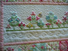 Addicted To Quilts: Pretty Embroidery