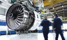 (19) They were invited to visit the testing process, and be impressed by powerful aircraft engine's performance. They also had been told that Rolls Royce Aircraft spent 1.2 billion pounds every year on R&D to keep the leading position of technology.