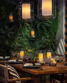 #tbt The Black Palms collection came to life at @DIFFA's Dining By Design event supporting the fight against HIV/AIDS #DBD2016