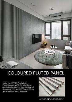 Textured Wall Panels, Faux Brick Panels, Decorative Wall Panels, Modern Wall Paneling, White Paneling, Wall Panelling, Wood Wall Design, Wall Panel Design, Tv Wall Panel