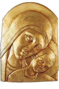 d49177f53bcc Imagen en pan de oro de la Virgen del Camino - Traditio del Camino by De  Bussy