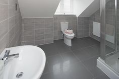 We have a fantastic choice of new homes for sale in Church Crookham, whether you're a first time buyer, have a growing family, or simply looking to relocate. Boys Bathroom, Ideal Home, Taylor Wimpey, House, New Homes For Sale, Upstairs Bathrooms, New Homes, Bathroom Inspo, Beautiful Bathrooms