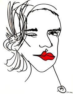 belle BRUT sketchbook: #joansmalls #fashion #illustration #blindcontour © belle BRUT 2014 http://bellebrut.tumblr.com/post/93654290075/belle-brut-sketchbook-joansmalls-fashion