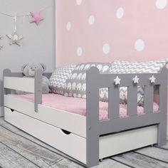 Kinderbett Clara mit Matratze und Schublade
