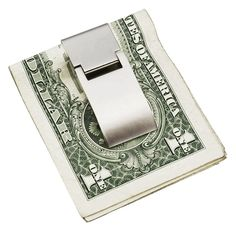 Stainless Steel Money Clip – Don't get one; Get two or three. You can't have enough of them. Makes it easier to count and looks more clean than a bundle of pocket wrinkled bank nores. And not the carbon fiber or faux croco leather. Seriously: Nothing looks more tacky than a bundle of dirty #dollar bills on a luxury clip. The only thing that will look your #money clip look good, is more money. So work on that instead. #timeless #basic #simple #elegant