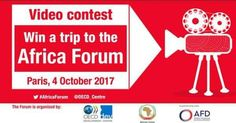 Entrepreneurs can win a Free Trip to Paris by OECD Africa Forum Video Competition @Africa. Deadline 4 September. http://www.oecd.org/development/africa-forum/videocontest/