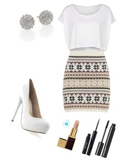 Untitled #5 by merveguengoer on Polyvore featuring beauty, Stila, Witchery, Tom Ford, Kate Spade, American Apparel and maurices