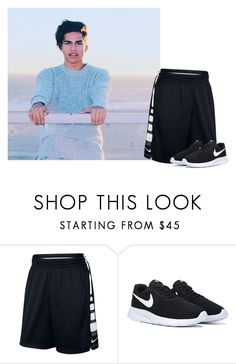 """""""« drake »"""" by touchme-loveme ❤ liked on Polyvore featuring NIKE, men's fashion and menswear"""