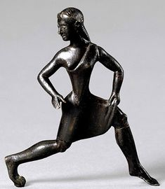 Women in ancient Sparta were famous for their independence relative to that of other Greek women. In contrast to Athens, in Spartan society girls were reared much like boys, including physical fitness training. Ancient Sparta, Ancient Rome, Ancient Greece, Ancient History, Lena Headey, Spartan Women, Statue En Bronze, British Museum, Athens