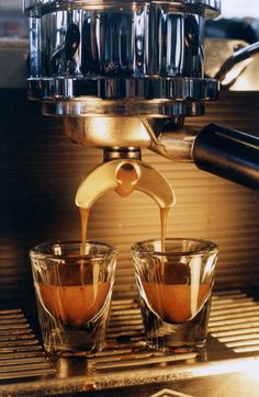 """Shots shots shots! Espresso shots! That will make you feel warm and cozy!!"