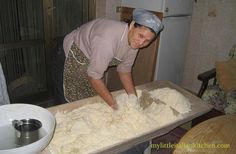 Bread making in rural Calabria