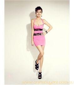 Slimming Open Back Imitated Silk Women's Bodycon Dress Cheap Clothes, Cheap Dresses, Sammy Dress, Club Dresses, Two Piece Skirt Set, Bodycon Dress, Slim, Pattern, How To Wear