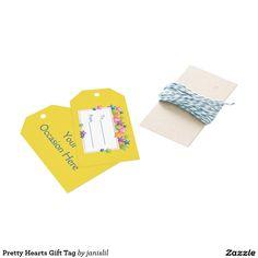Pretty Hearts Gift Tag