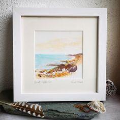 Irish Jewelry, Ocean Art, Sea Glass Jewelry, Contemporary Art, Mixed Media, Paintings, Studio, Frame, Artist